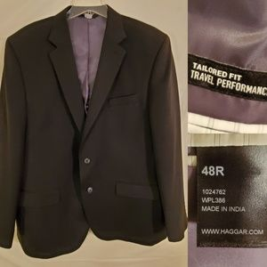 48R |  Haggar tailor fit travel performance Jacket